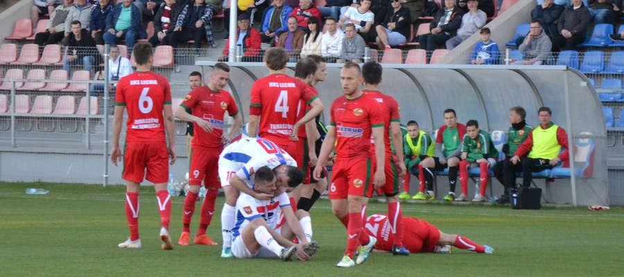 Wiosną piłkarze Sokoła nie tracą punktów na własnym stadionie