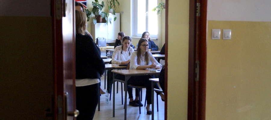 Abiturienci III LO przed egzaminem maturalnym