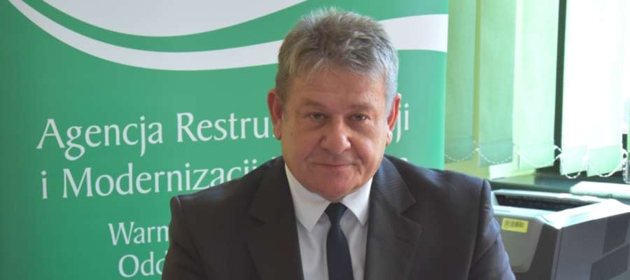 Mieczysław Włos – Zastępca Dyrektora Warmińsko-Mazurskiego Oddziału Regionalnego ARiMR