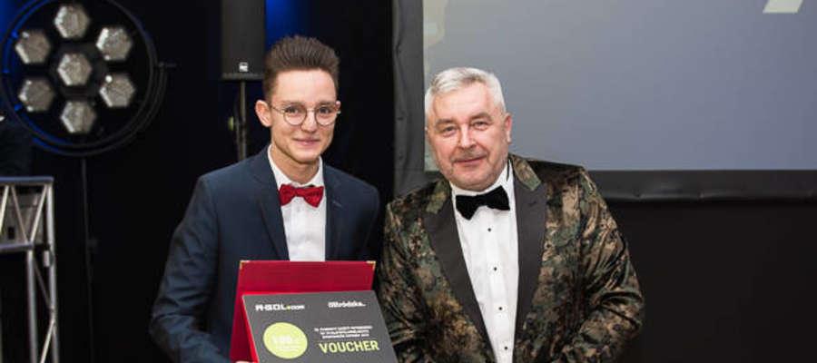 Tadeusz Czyczel (z prawej) będzie nowym dyrektorem Ostródzkiego Centrum Sportu i Rekreacji