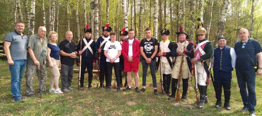 Wizyta Francuzów w Łaniewie