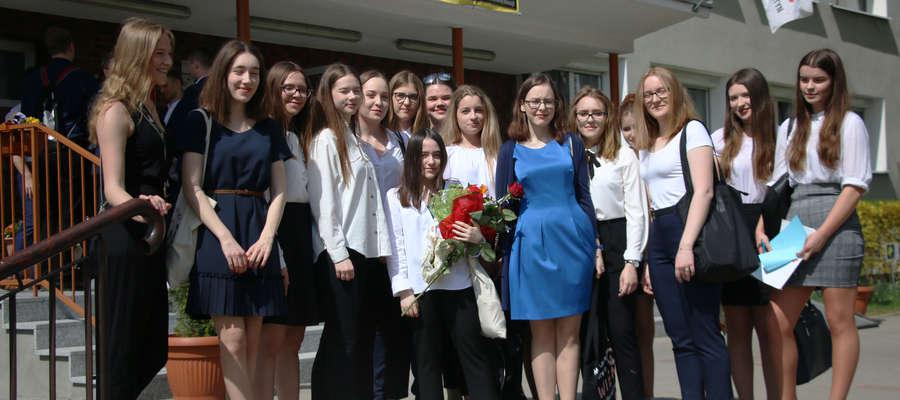 Maturzyści II LO w Olsztynie
