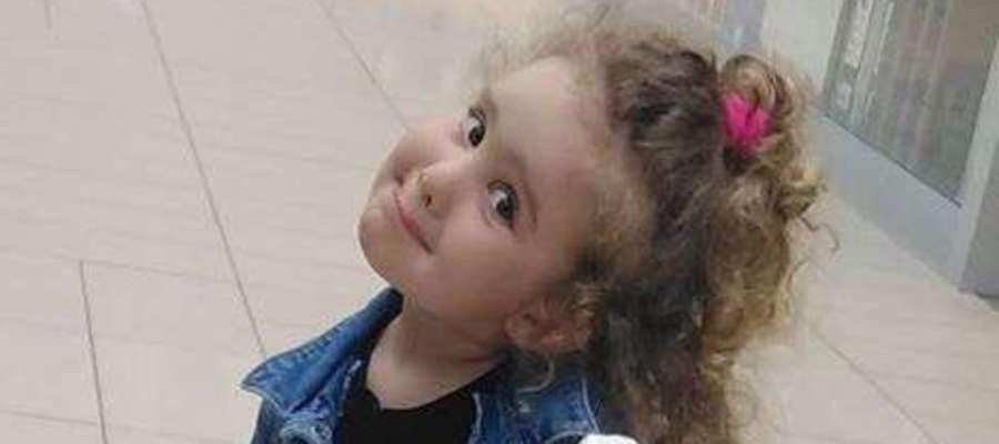 Julia Jodakis, 4 lata, Sątopy-Samulewo. SMS o treści GB.MKA.6 na numer7248 (Koszt 2,46 zł z VAT za SMS)