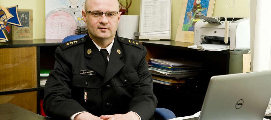 Komendant Łukasz Kochan