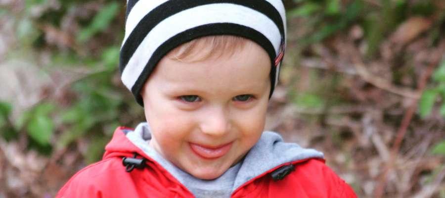 Tomasz Kuraj, 2 latka i 3 miesiące, Bisztynek. SMS o treści GB.MKE.2 na numer 7248 (Koszt 2,46 zł z VAT za SMS)
