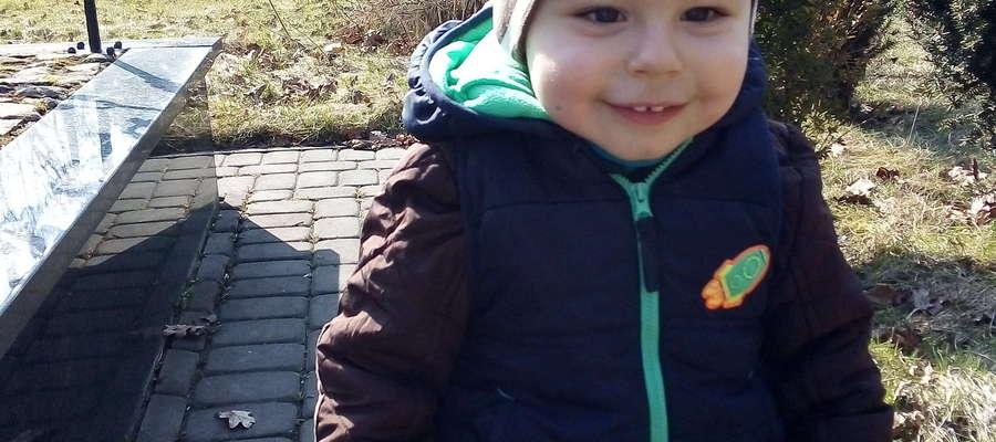 Natan Mikos, 2 latka i 4 miesiące, Sępopol. SMS o treści GB.MKE.3 na numer 7248 (Koszt 2,46 zł z VAT za SMS)