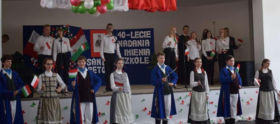 Jubileusz szkoły w Ostródzie pod patronatem węgierskiego poety