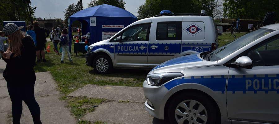 VW Caddy Policja Elbląg