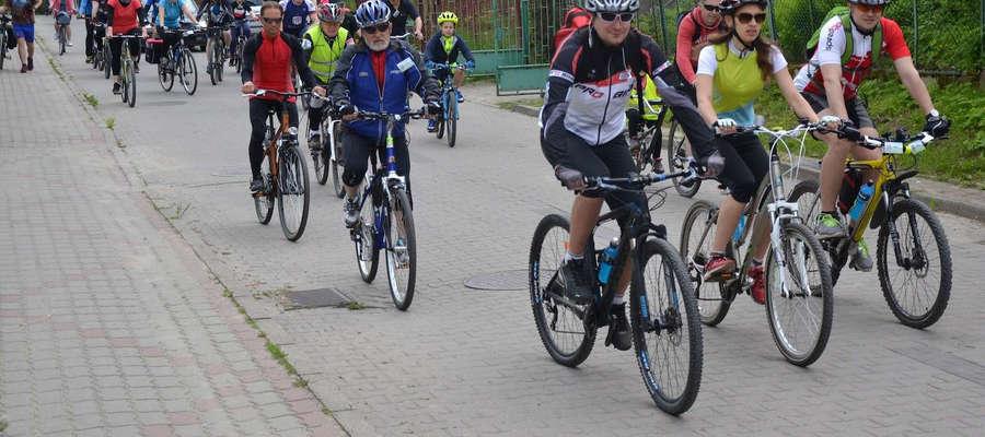 W ostatnich edycjach rajdu rowerowego uczestniczyło ponad 700 rowerzystów