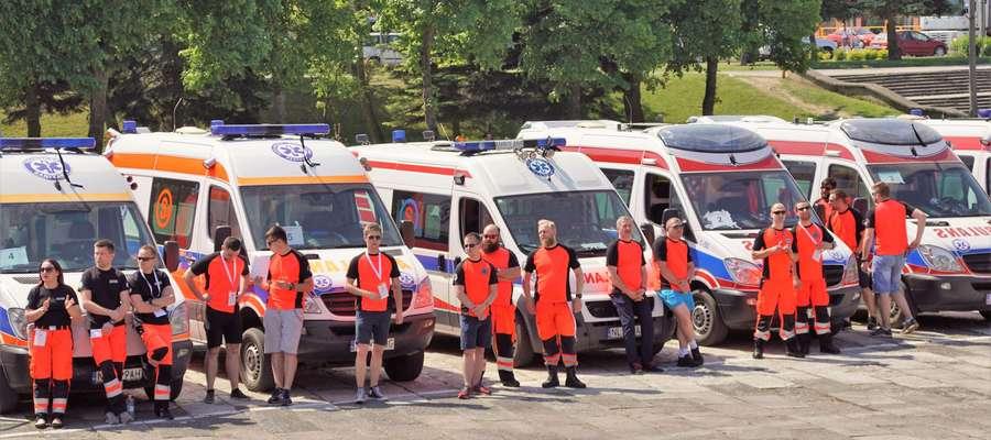 Rok temu w Bartoszycach rywalizowało 20 załóg karetek.