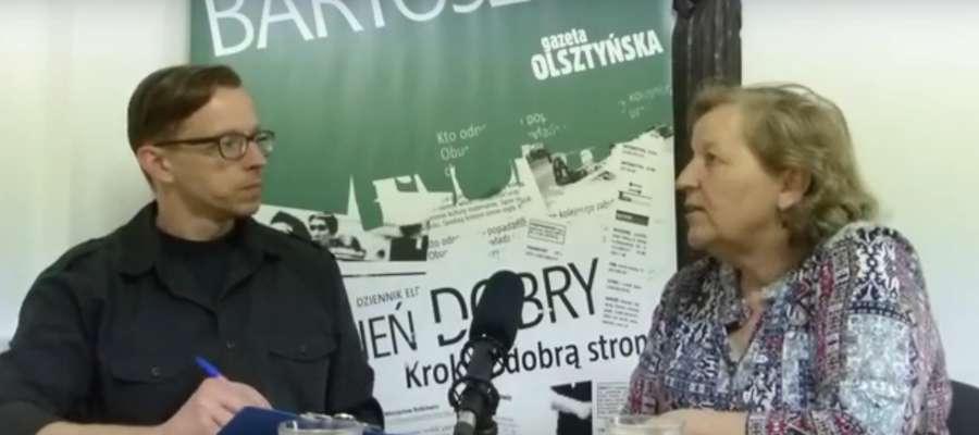 """Rozmowa """"Gońca"""": dyrektor PCPR w Bartoszycach Brygida Adamajtis"""