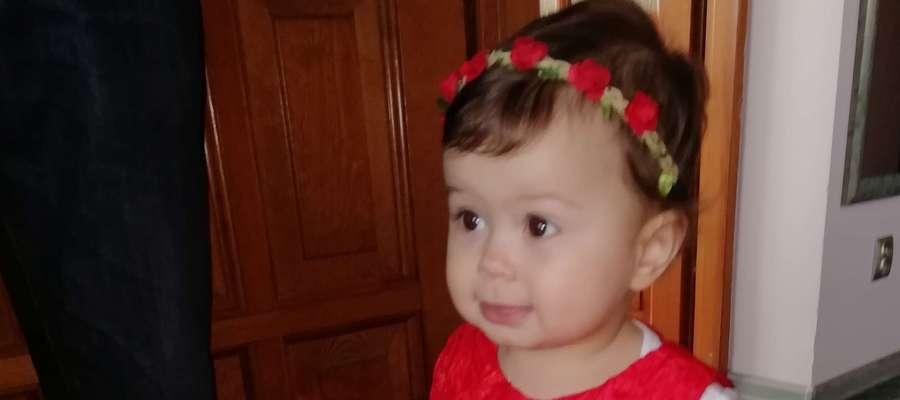 Katarzyna Rzodkiewicz, 13 miesięcy, Bartoszyce. SMS o treści GB.MKA.8 na numer 7248 (Koszt 2,46 zł z VAT za SMS)