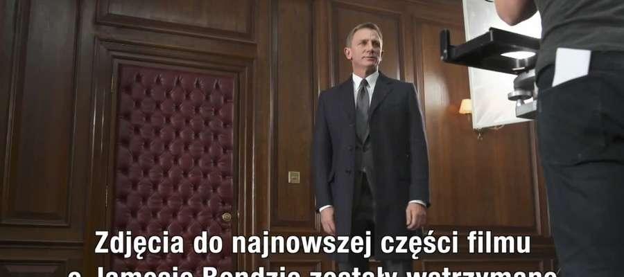 Wstrzymano zdjęcia do najnowszej części Bonda
