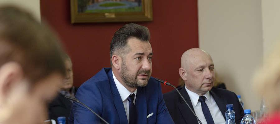 Tomasz Woźniak wygłosił oświadczenie dotyczące jego pracy i audytu w Iławskim Centrum Kultury