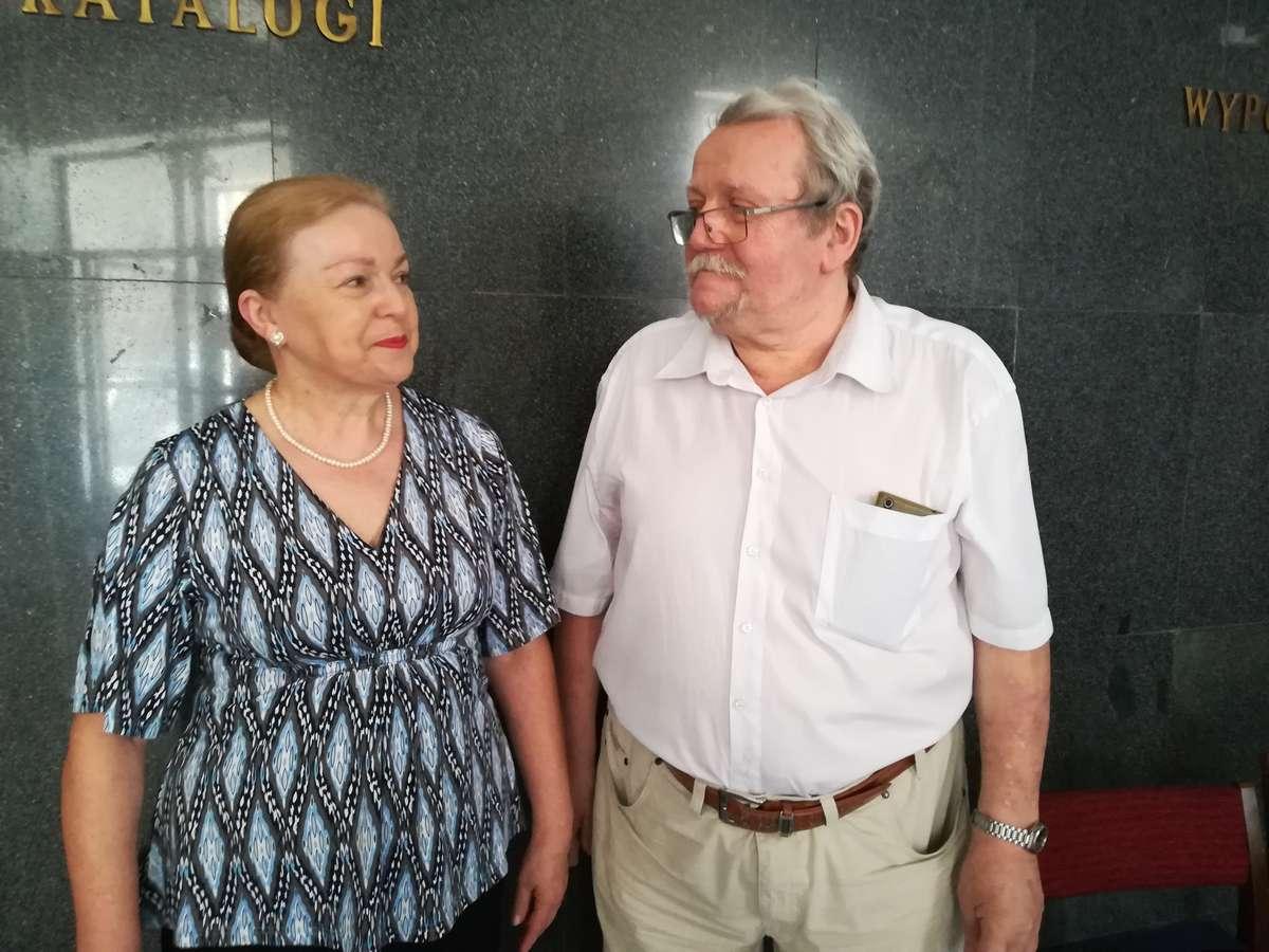 Jadwiga Piskorska i Tadeusz Pacer