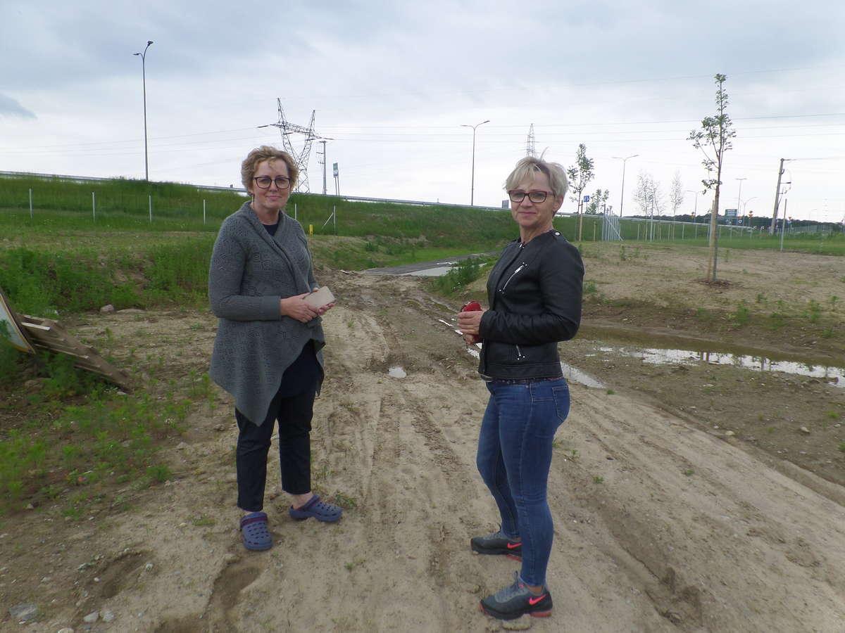 Od lewej Teresa Jakowicz i Maria Skórzyńska