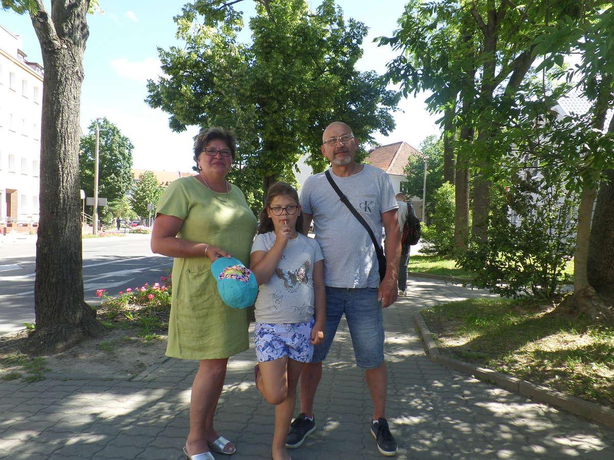 Grażyna i Jarosław Zajkowscy na urlop jadą do Władysławowa