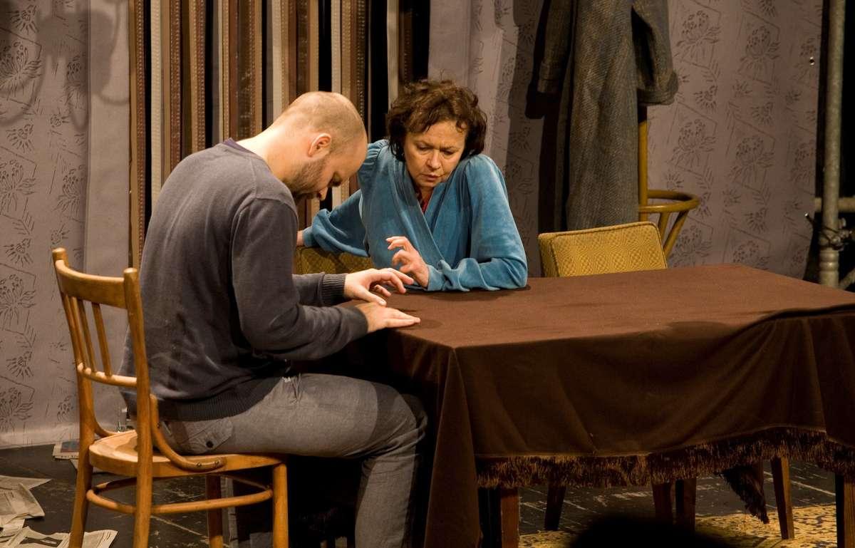 Joanna Szczepkowska w spektaklu