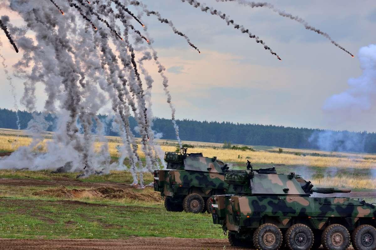 walka czołgów Orzysz  - full image