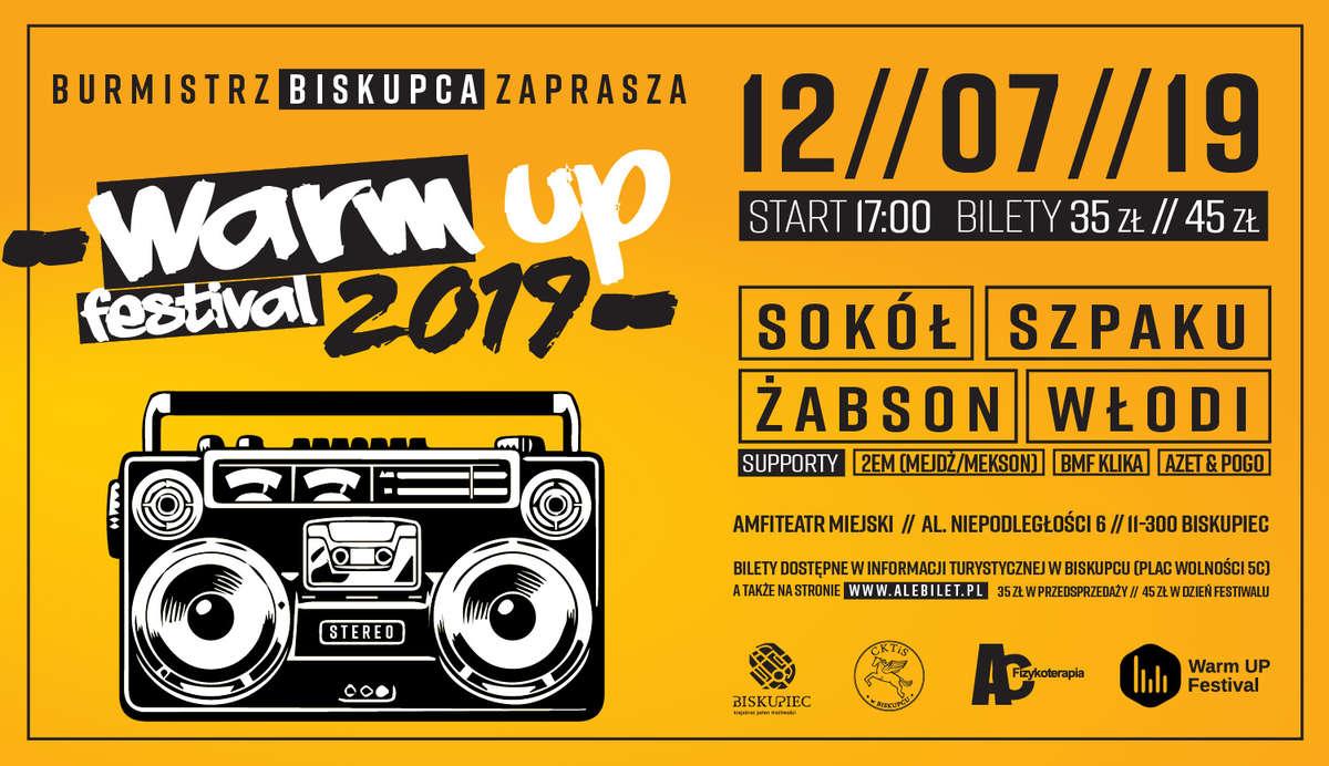 Warm Up Festival 2019 już wkrótce  - full image