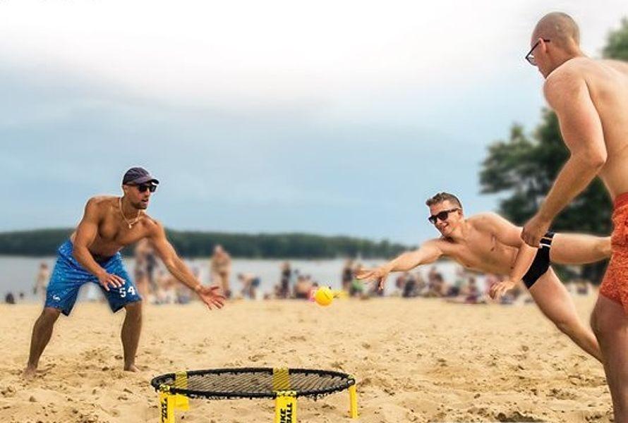 Turnieje Roundnet w Olsztynie