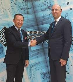 Jarosław Tokarczyk, prezes Grupy WM i Krzysztof Kamiński, prezes Grupy Alnea