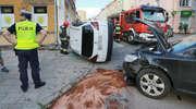 Wypadek w Olsztynie. Jedna osoba została ranna
