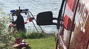 Wędkarz z Mławy utonął na jeziorze Dąbrówno