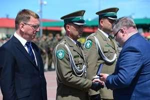Placówka Straży Granicznej w Grzechotkach otrzymała imię I Pułku Kawalerii Korpusu Ochrony Pogranicza