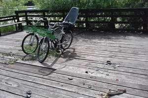 Pytanie za tysiąc złotych: kto niszczy olsztyńskie rowery miejskie? [ZDJĘCIA]