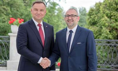 Gratulacje i życzenia Prezydenta RP Andrzeja Dudy z okazji Dnia Samorządu Terytorialnego.