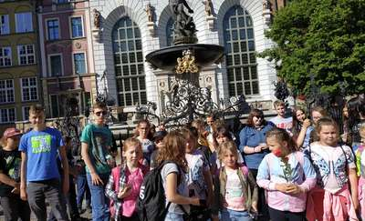 Uczniowie ze szkoły w Dzietrzychowie pojechali na wycieczkę do Gdańska