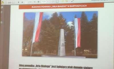 Podczas sesji m.in. pokazano projekt pomnika Orla Białego