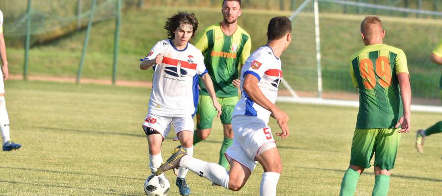 Z Białej Piskiej piłkarze Sokoła wrócili z jednym punktem