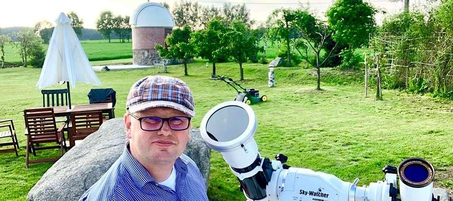 Robert Szaj zaprasza do obserwatorium w Truszczynach, gdzie niebo będziemy mieli, jak na dłoni