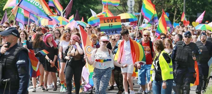 Zdjęcie jest ilustracją do tekstu, pochodzi z olsztyńskiego Marszu Równoci