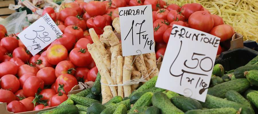 Owoce i warzywa ceny