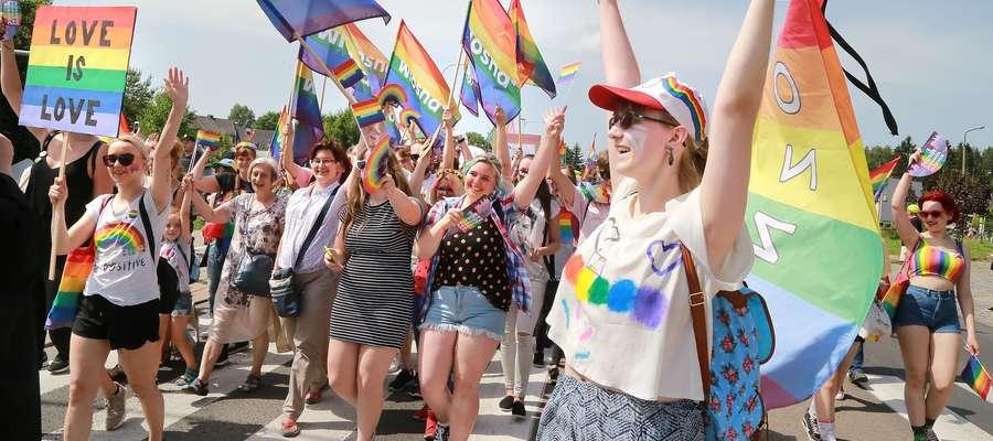 Pierwszy Olsztyński Marszu Równości odbył się 15 czerwca