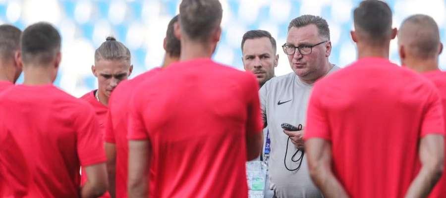 Czesław Michniewicz może być zadowolony z pierwszego meczu swojej drużyny w MME