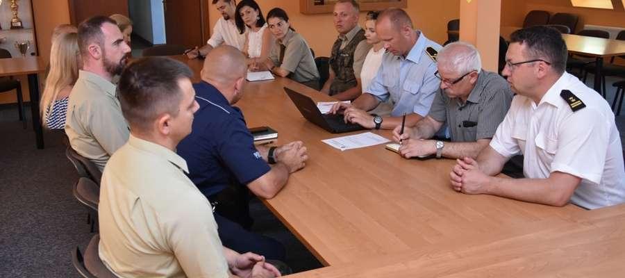 Spotkanie poświęcone bezpieczeństwu odbyło się w siedzibie KP PSP Ostróda