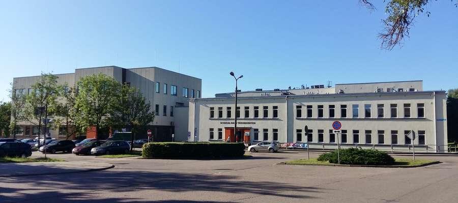 Budynek Wydziału Nauk Technicznych UWM