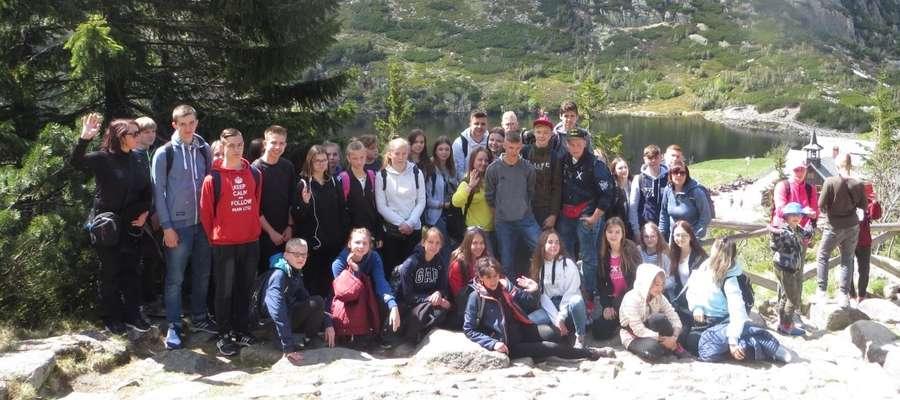 Uczniowie z Mroczna i Boleszyna pojechali na wspólną wycieczkę