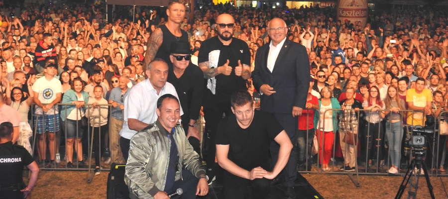 Zespół Kombii dał świetny koncert w Nowym Mieście Lubawskim