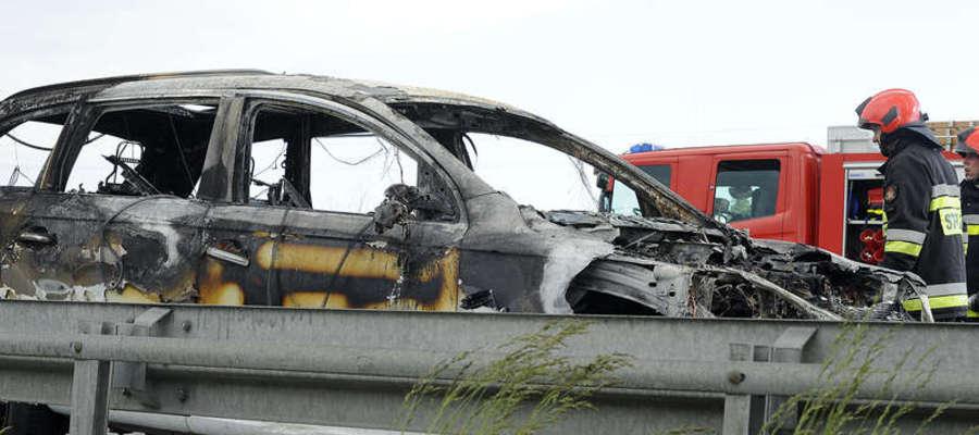Pożar Audi