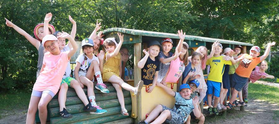 Dzieci z Przedszkola Miejskiego nr 1 w Olsztynie