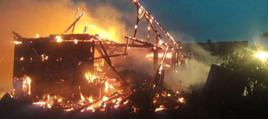 Pożar w Lejdach.