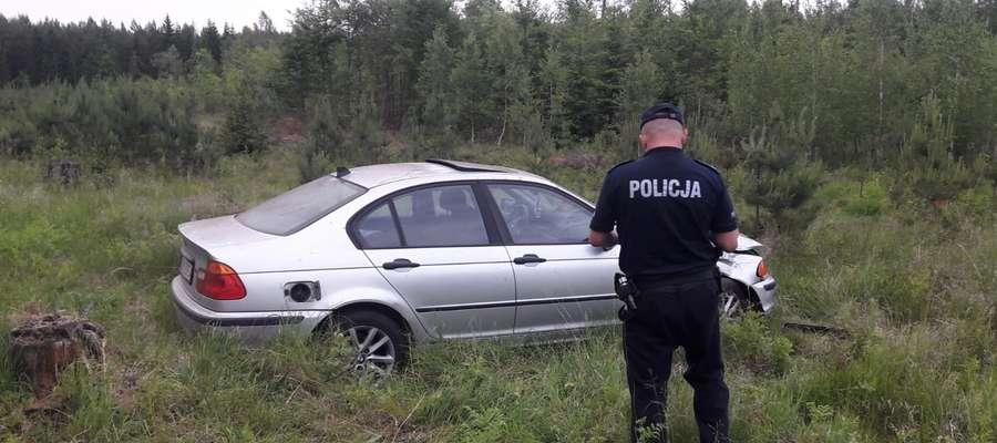 Wypadek na trasie Orneta — Pieniężno