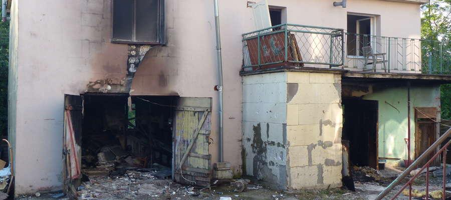 Tak wygląda budynek, w którym doszło do wybuchu