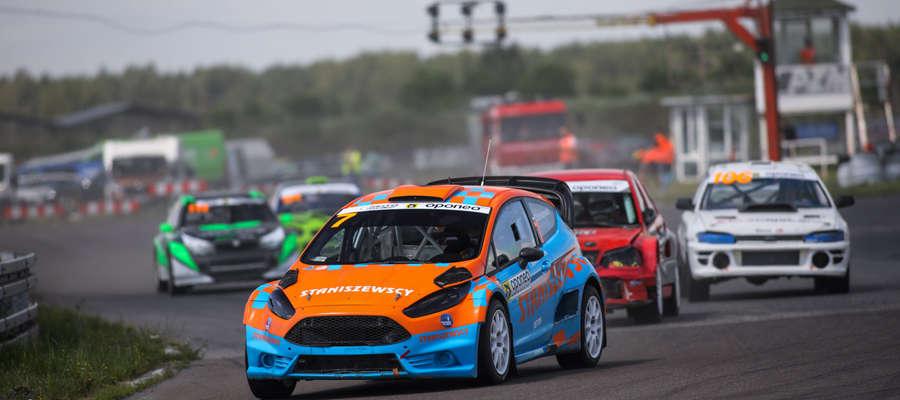 Zbigniew Staniszewski zaliczył w Toruniu świetny debiut w rallycrossowej rywalizacji