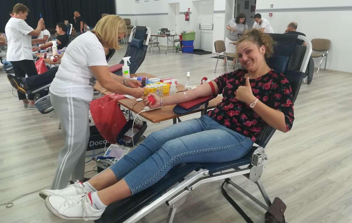 Podczas akcji poboru krwi w Biskupcu Pomorskim
